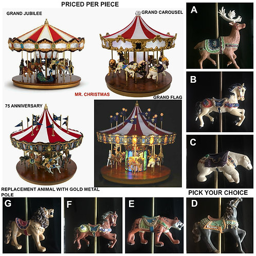 MR. CHRISTMAS  CAROUSEL REPLACEMENT
