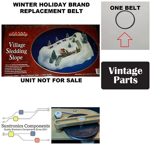 Winter Holiday brand Village Sledding Slope