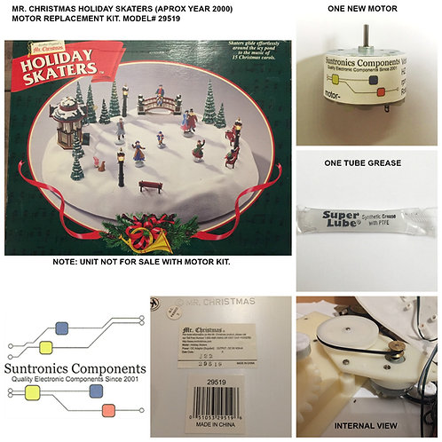 MR CHRISTMAS HOLIDAY SKATER- REPLACEMENT PARTS-MOTOR REPAIR KIT