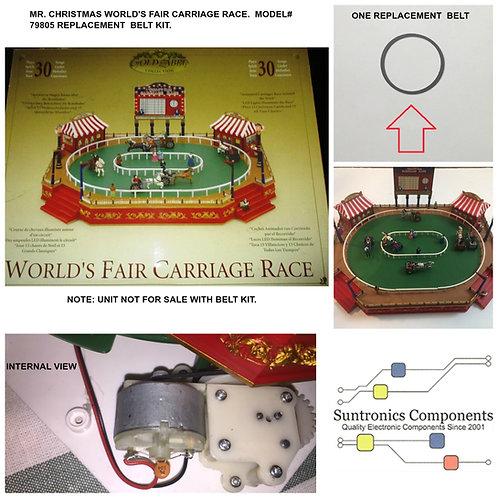 Mr. Christmas World's Fair Carriage race model# 79805 DRIVE BELT PART