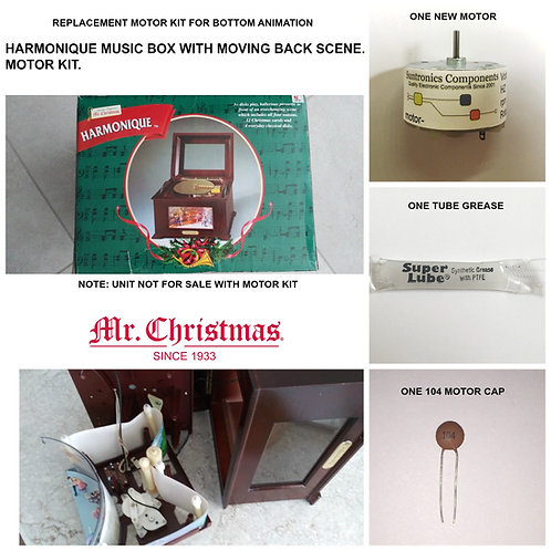 MR. CHRISTMAS HARMONIQUE MUSIC BOX Motor KIt