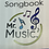 "Thumbnail: Mr Christmas "" Mr. Music song Book and pair drum sticks"