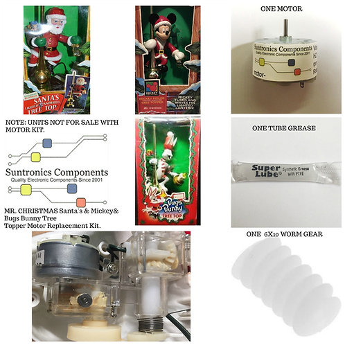MR CHRISTMAS  TREE TOPPER- REPLACEMENT PARTS-MOTOR REPAIR KIT