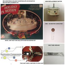 PicMonkey Image MR CHRISTMAS HOLIDAY IN MOTION UPC CODE 051053287016 MOTOR KIT
