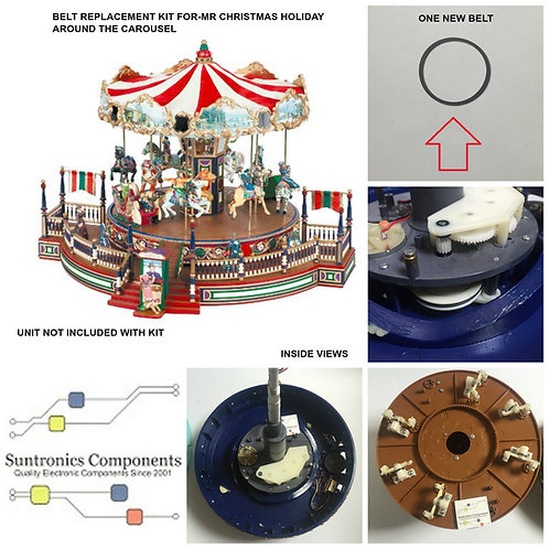Mr Christmas Holiday Around The Carousel -REPLACEMENT PART - BELT