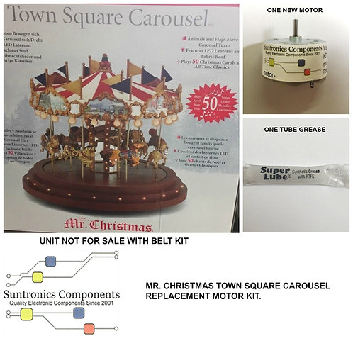 MR. Christmas TOWN SQUARE CAROUSEL Motor KIt