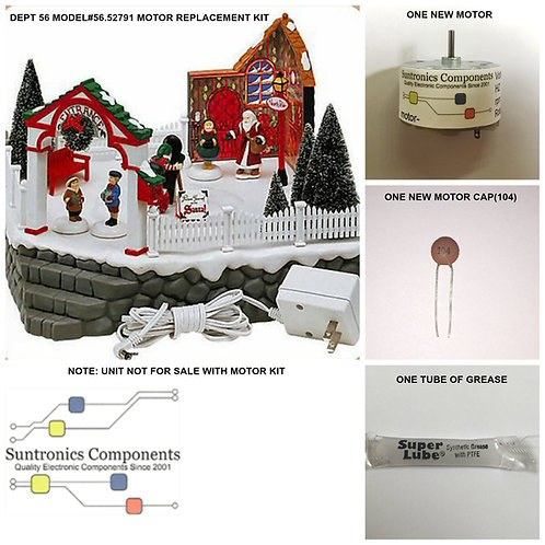 """Department 56 """"PHOTO WITH SANTA""""  -REPLACEMENT PART MOTOR KIT(model#56.52791)"""