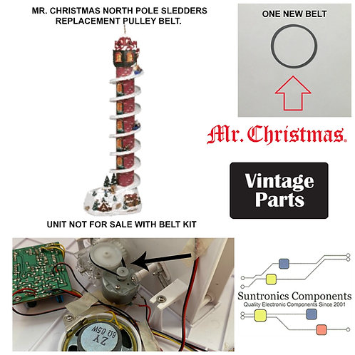 Mr. Christmas North Pole  Sledders small belt kit