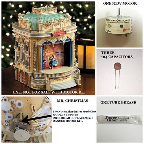 Mr. Christmas The Nutcracker Ballet Music Box motor kit