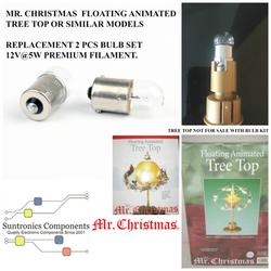 mr christmas floating animated 2 bulb ki