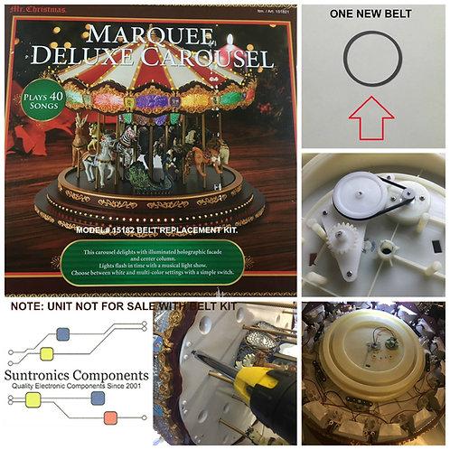 Mr. Christmas Marquee Deluxe Carousel - Belt Repair kit model#151821