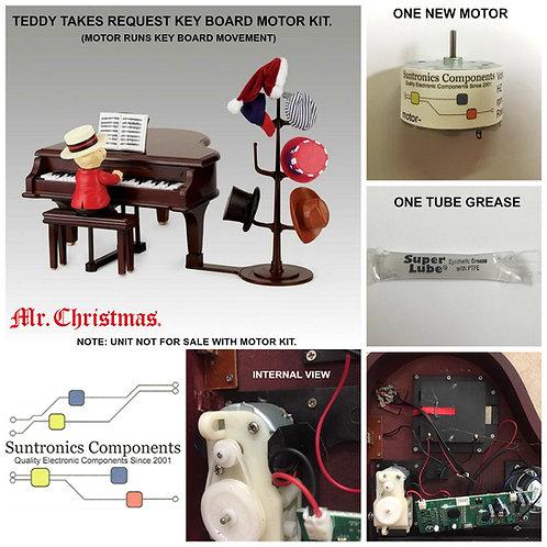 MR. Christmas Teddy Takes Request Keyboard motor kit
