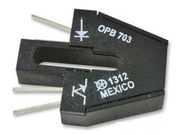 OPB703 -  Reflective Photo Interrupter, OPB703 Series, Phototransistor