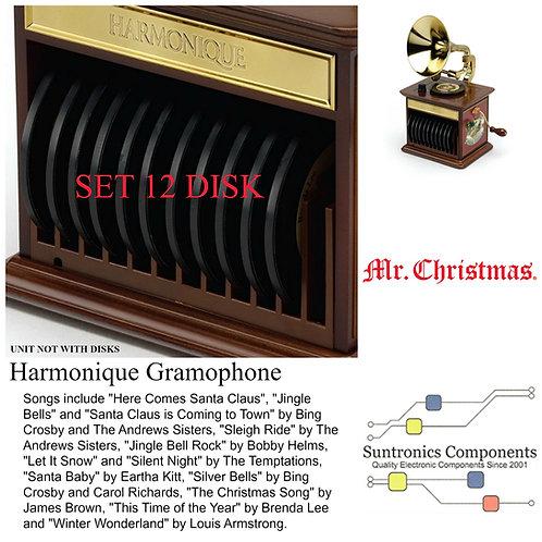 MR. Christmas Harmonique Gramophone