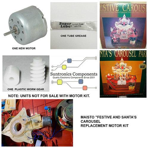 Maisto Santa's or Festive Carousel Motor Kit