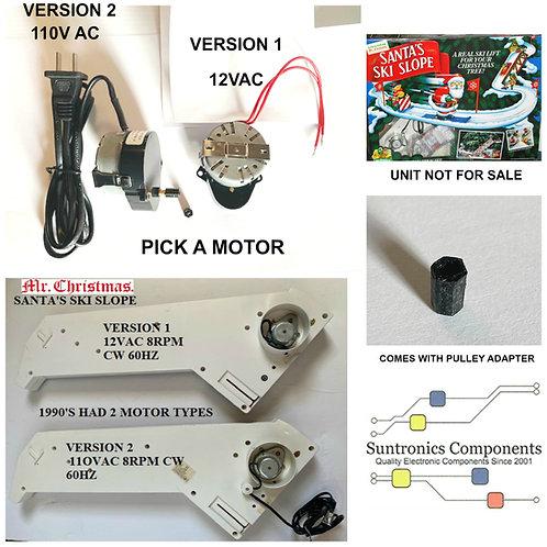 Mr. Christmas Santa's Ski Slope Replacement motors