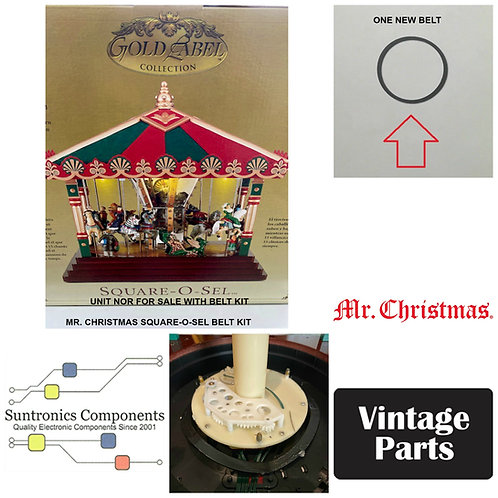 "Mr. Christmas ""Square-O-Sel"" belt kit"
