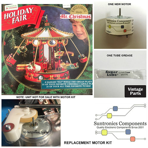 Mr. Christmas Holiday Fair motor kit