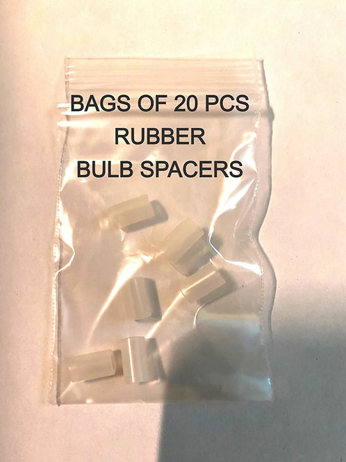 MR. CHRISTMAS REPLACEMENT  COLOR BULBS RUBBER SPACERS