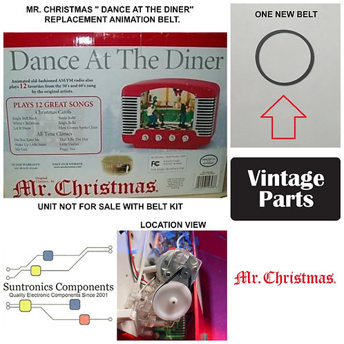 """Mr. Christmas """" Dance At The Diner """""""