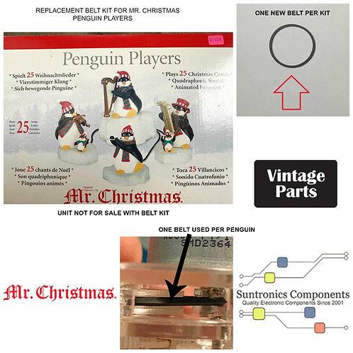 """Mr. Christmas """"Penguin Players"""" Belt kit"""