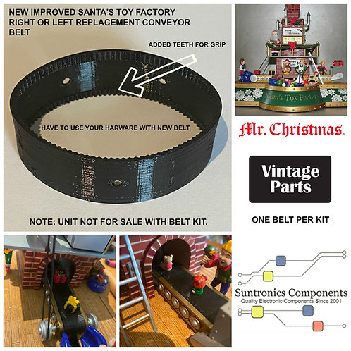 Mr. Christmas Santa's Toy Factory belt