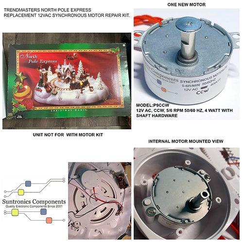 Trendmasters North Pole Express ccw motor P9