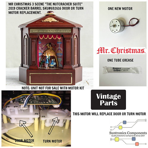 Mr. Christmas The Nutcracker Suite 3 Scene motor kit