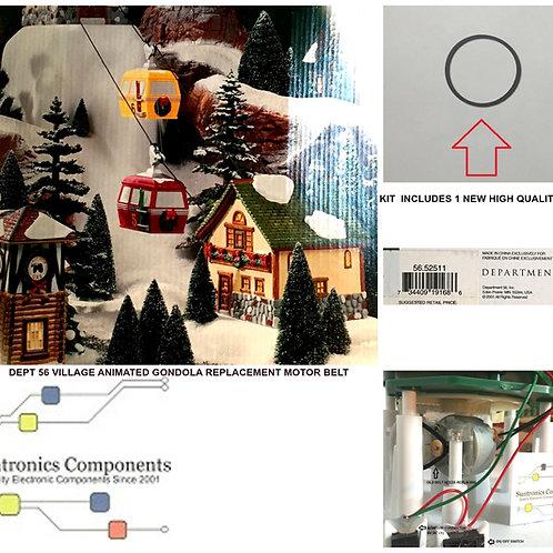 Dept 56 -Village Animated Gondola -REPLACEMENT PART - BELT-upc:734409191686