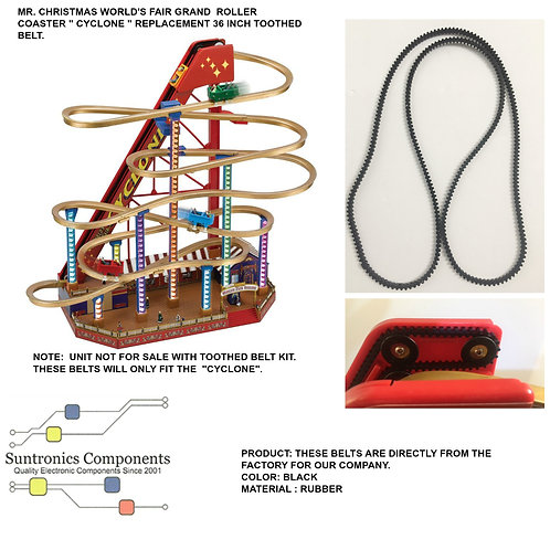 Mr Christmas World's fair Grand Roller Coaster Cyclone- PART - 36inch too