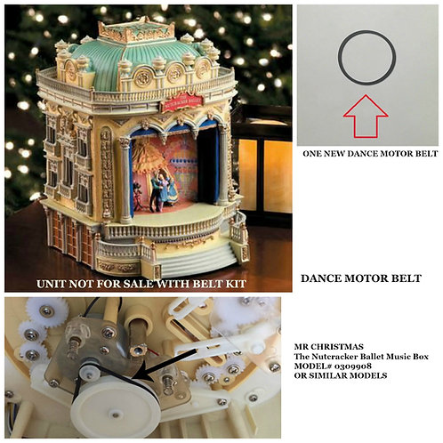 Mr. Christmas The Nutcracker Ballet Music Box