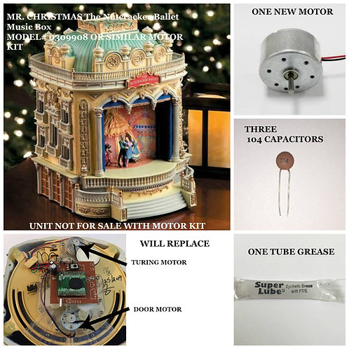 Mr. Christmas The Nutcracker Ballet Music Box motor kit
