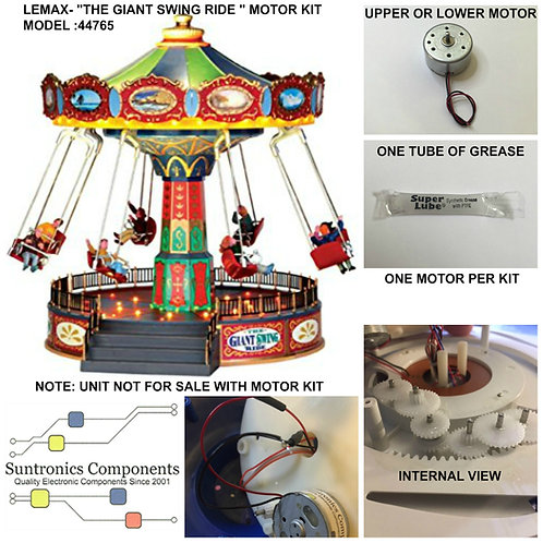 "Lemax "" The Giant Swing Ride"" #44765 Replacement motor"
