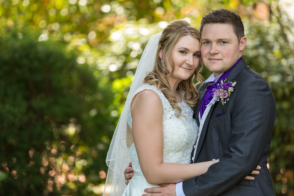 Married couple wedding photographer Sussex