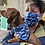 Thumbnail: Dog Bandana & Matching Mask Set