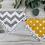 Thumbnail: Set of 3 Chevron & polka dot bandanas