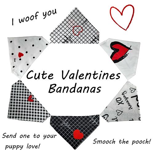 Valentines Bandana