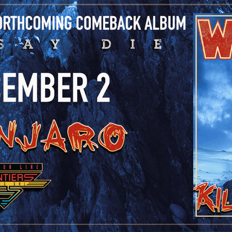 "NEW SINGLE ""KILIMANJARO"" AVAILABLE DECEMBER 2ND"