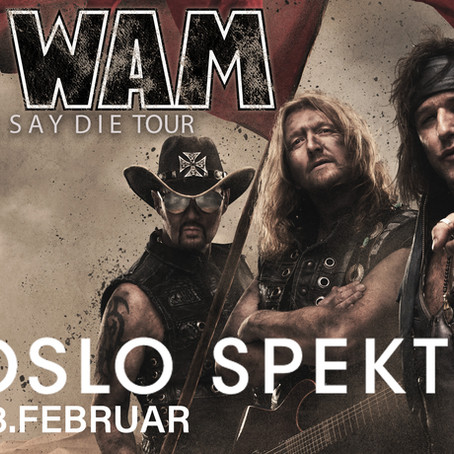 WIG WAM KICKS OFF IN OSLO SPEKTRUM