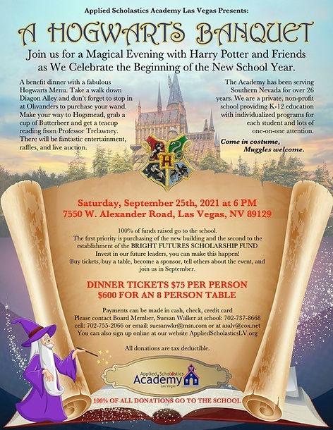 Hogwarts Banquet