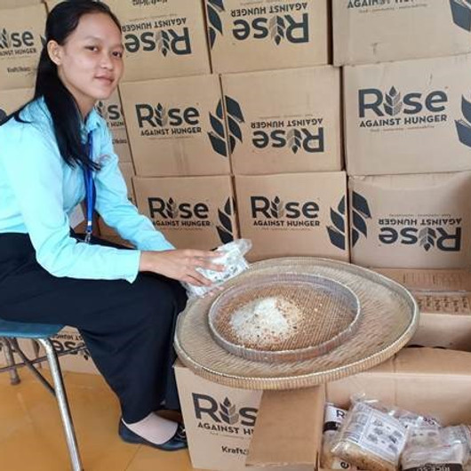 Rise Against Hunger Food Packing Event