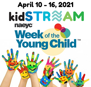 Week of Young Child 2021 Graphic for Soc