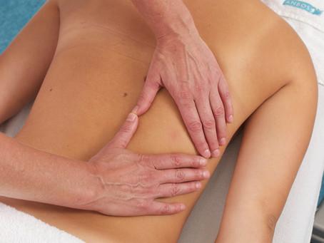 Nek, schouder en rug massage
