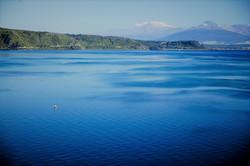 Lake Rotopounamu, New Zealand