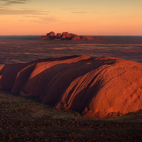 The Cosmic Umbilical Cord Connection at Uluru-Kata Tjuta