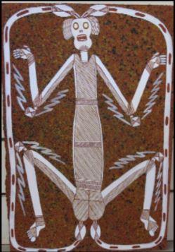 Lightning Man Injalak Arts