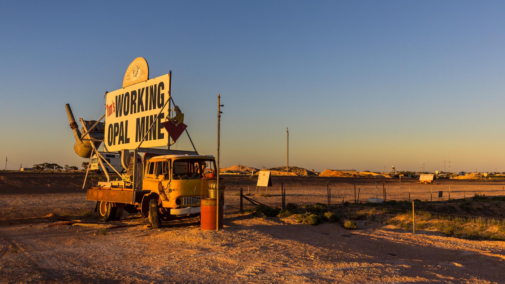 Coober Pedy Opal Mine