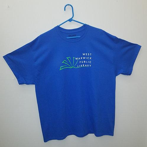 West Warwick Public library Logo T-shirt