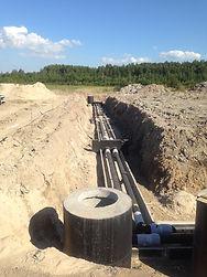 Cтроительство тепловой сети, теплосеть СПб, теплотрасса