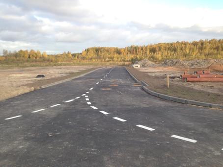 Завершились работы по строительству объектов инженерно-транспортной инфраструктуры, заказчик ЗАО &qu